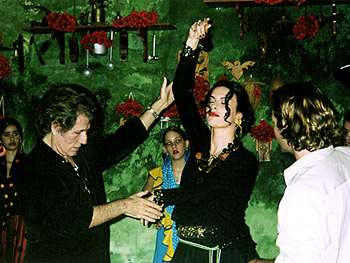Flamenco coach with Magali