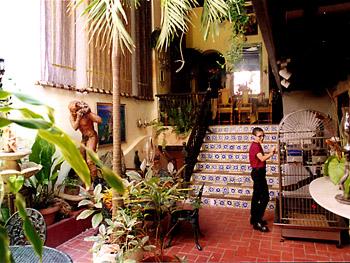 Inside Galleria Inn