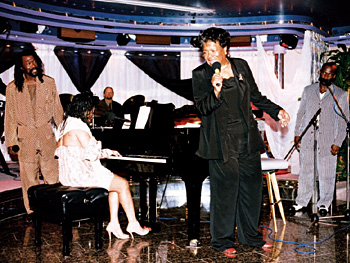 Nick Ashford, Valerie Simpson, Maya, and BeBe Winans