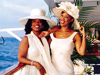 Oprah and Gayle King show off their Easter bonnets
