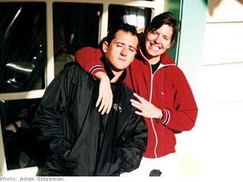 Photo assistant Carlo and hair stylist Hallie