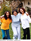Brandy, Oprah and Sonja Norwood