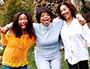 Brandy, Oprah, and Sonja Norwood