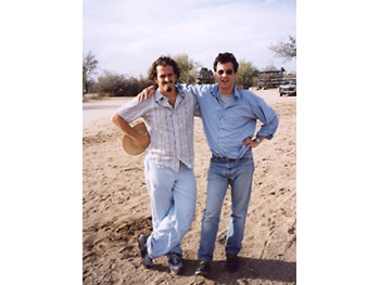 Producer Dake Gonzalez and Creative Director Adam Glassman