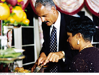 Stedman Graham and Barbara Winfrey