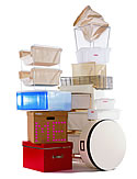 Closet organizers and containers