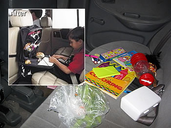 Backseat Kid Clutter