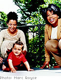Mariane Pearl, son and Oprah