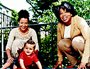 Marian Pearl, her son, and Oprah