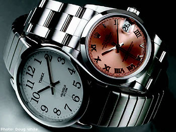 Rolex and Timex Watches