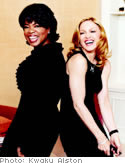 Oprah and Madonna