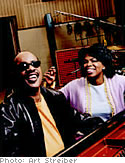 Stevie Wonder and Oprah