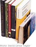 Creative ways to rearrange your bookshelves.