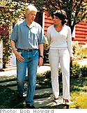 President Bill Clinton and Oprah