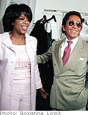 Oprah and Valentino Photo: Roxanne Lowit