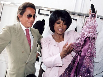 Oprah and Valentino