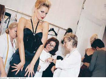Supermodel Karolina Kurkova