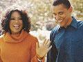 Oprah and Barack Obama