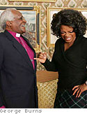 Archbishop Desmond Tutu and Oprah