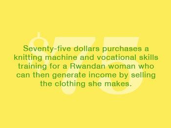 Seventy-five dollars...