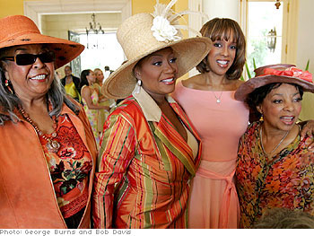 Della Reese, Patti LaBelle, Gayle King and Ruby Dee