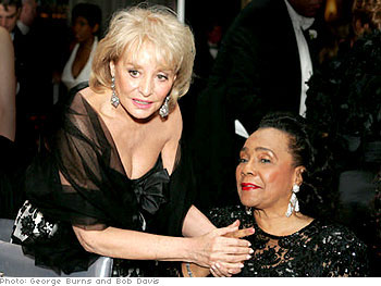 Barbara Walters and Coretta Scott King