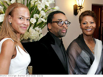 Tonya Lewis Lee, Spike Lee, and Dionne Warwick
