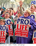 Abortion rally