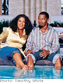 Oprah and Jamie Foxx