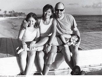 Jasmine and John with daughters Jesse and Mackenzie