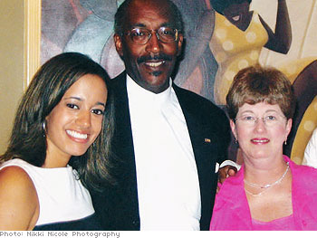 Lonnie and Sharon with daughter Jordan