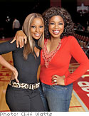 Oprah and Mary J. Blige