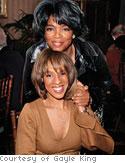 Gayle and Oprah