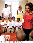 Oprah on the Boys and Girls Community Center