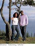 Oprah and Sean Combs