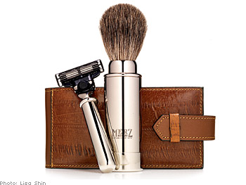 Muhle-Pinsel travel shaving kit