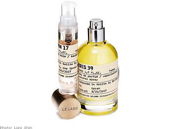 Le Labo personalized fragrance