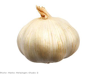 Garlic can lower risk of heart disease.