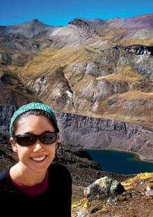 Cara Birnbaum in Peru