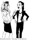 Dealing with a gossip