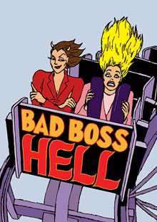 Bad boss hell - roller coaster