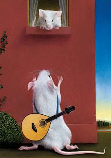 Mice can sing