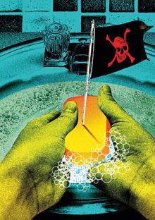 Hazardous antibacterial soap