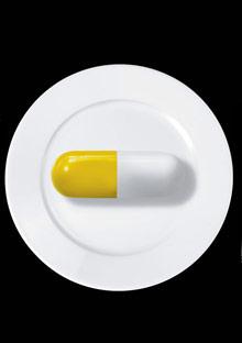 Pill for dinner
