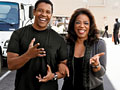 Denzel Washington and Oprah