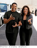 Oprah with Denzel Washington