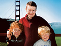 Pema Chodron with her grandsons