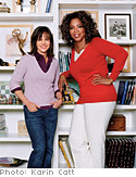 Sally Field and Oprah