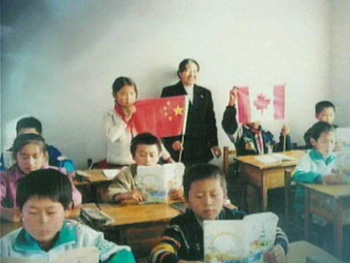 Both boys and girls get a chance to learn at Angel Network schools in rural China.